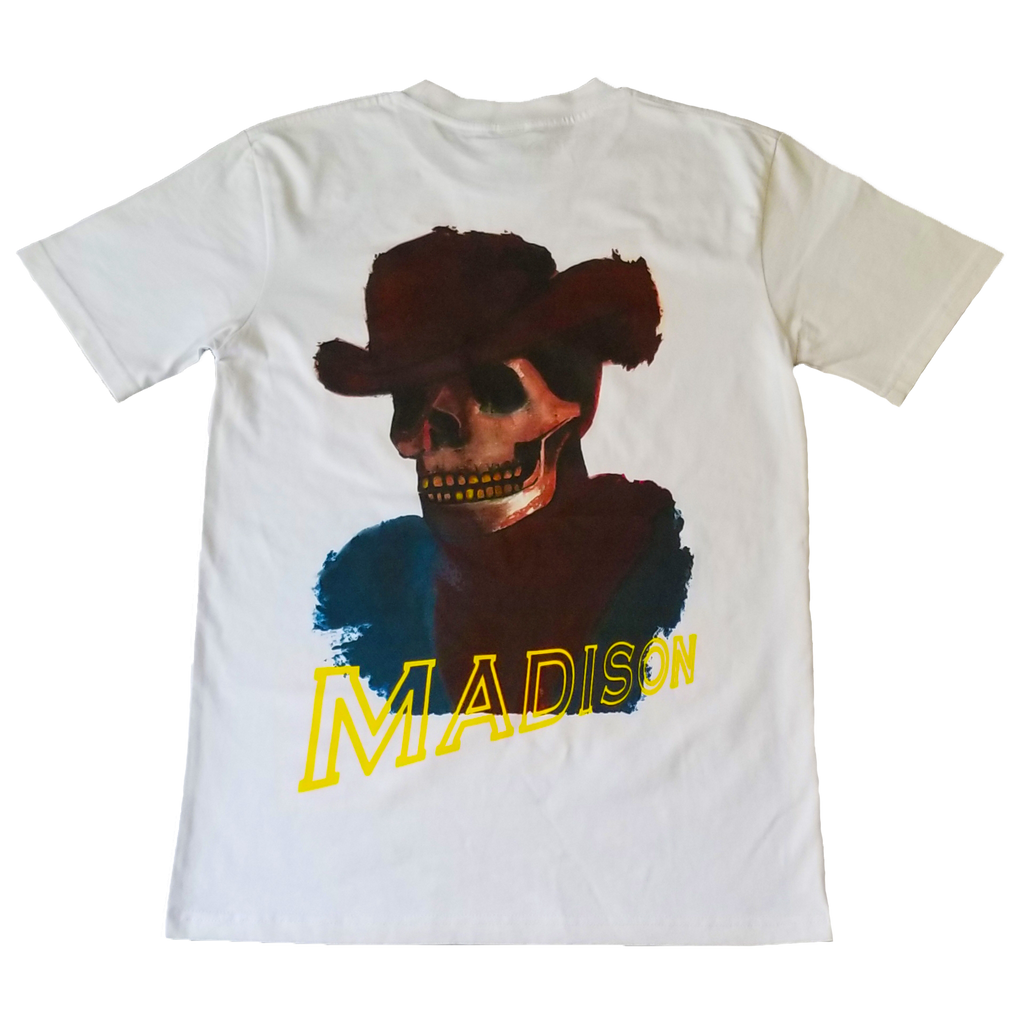 DEAD HOMBRE POCKET TEE (WHITE)