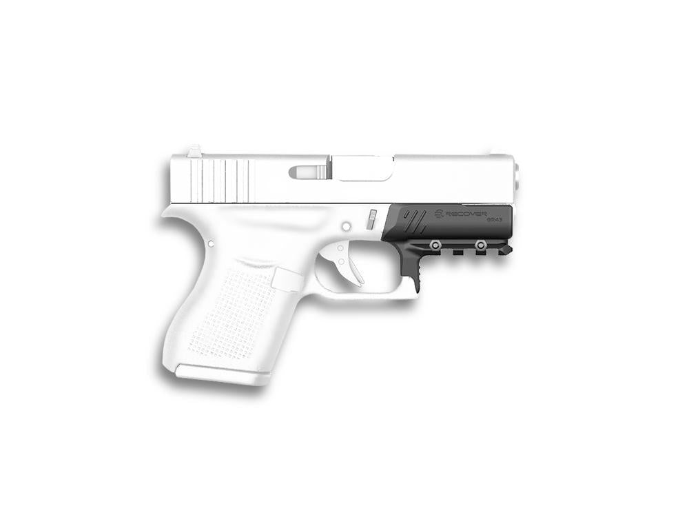 Rail Adapter for Glock 43, 43X, and 48 | Recover Tactical GR43