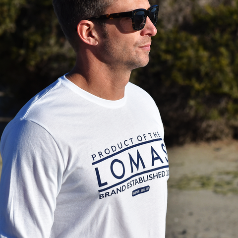 The Lomas Brand - Shop Our Assortment of Premium Made Apparel.  A North County San Diego, CA Based Clothing Brand Established In Solana Beach, CA. Choose from Premium Soft Blank T-Shirts to Jackets & More.  Soft Feel. Local Touch.