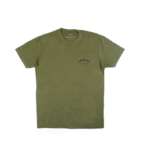 The Community Tee- Army Green