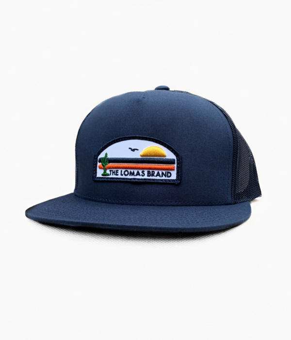 Navy Desert Coast Trucker Hat