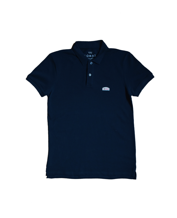 Flagship Pique Polo - Midnight Navy