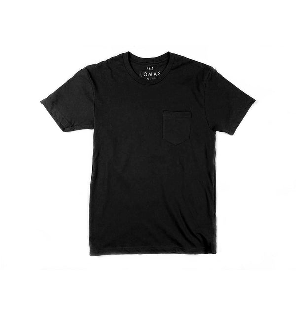 Port Side Pocket Tee (Black)