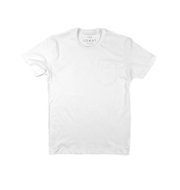 Port Side Pocket Tee (White)