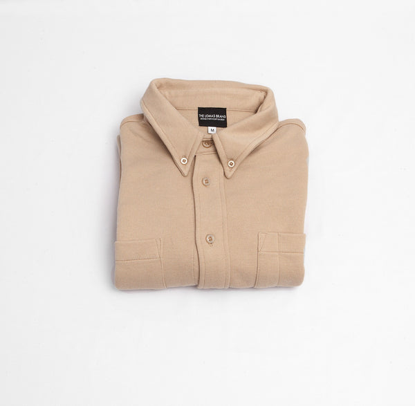The Craftsman Button Down - Tan