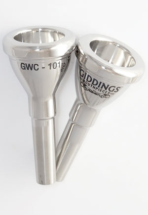 GWC-101 Small Bore Trombone Mouthpiece