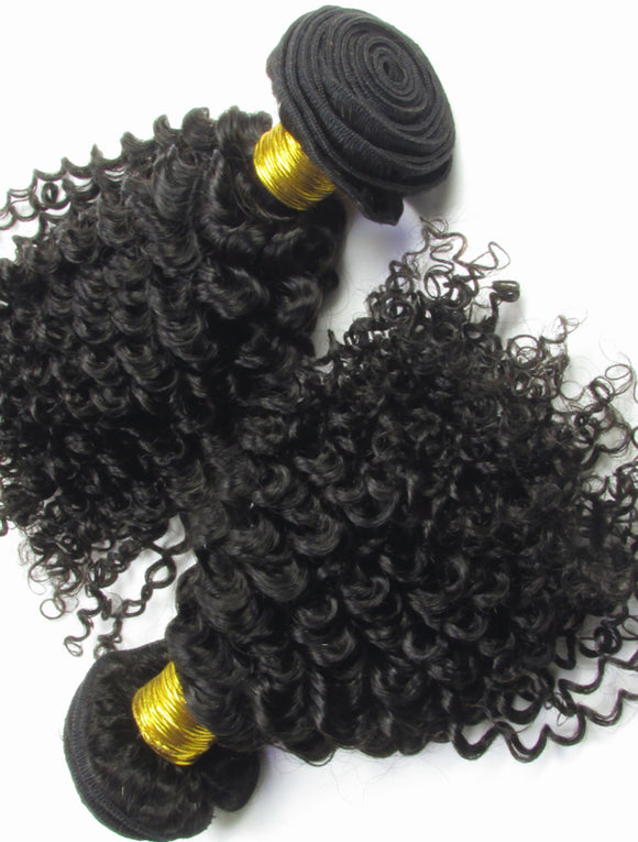 AFRO CURLY WEAVE HAIRSTYLES