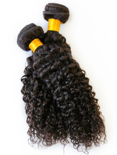 KINKY CURLY WEAVE HAIRSTYLES