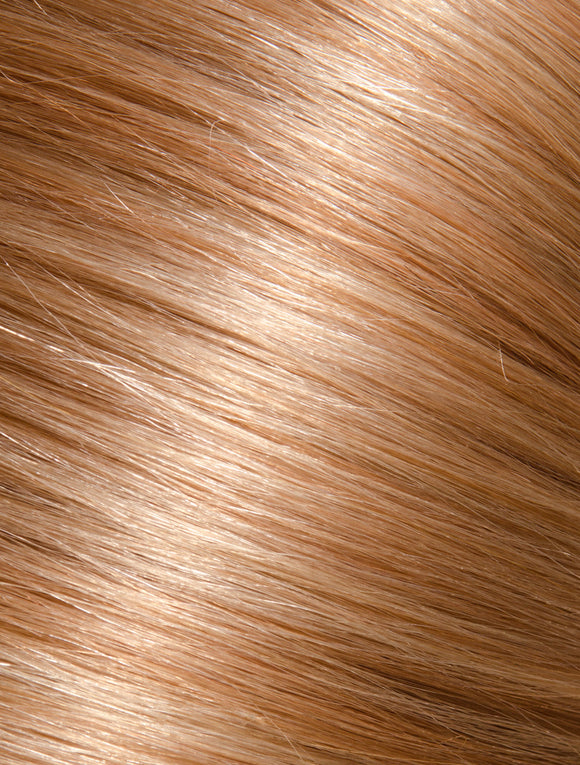 BROWN BLONDE KERATIN HAIR EXTENSIONS - 2