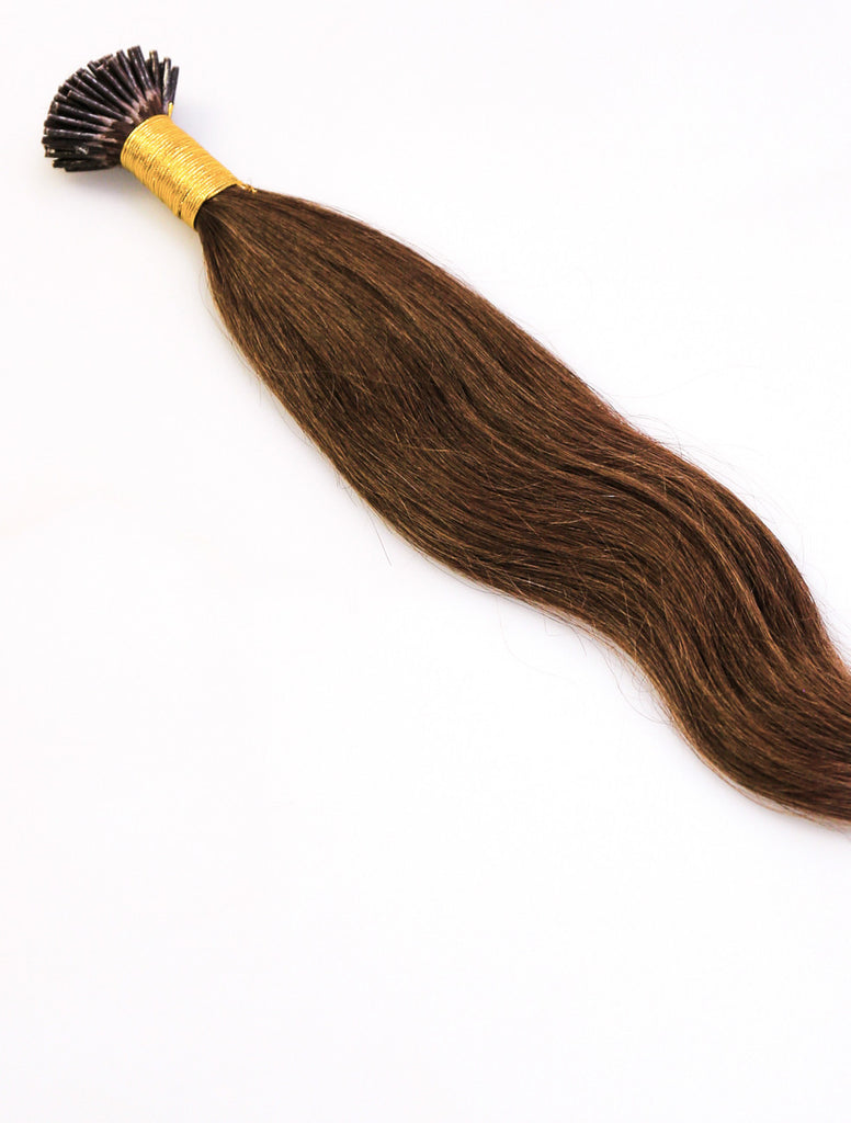 CHOCOLATE BROWN KERATIN HAIR EXTENSIONS