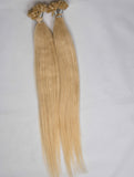 GOLDEN BLONDE KERATIN HAIR EXTENSIONS - 1