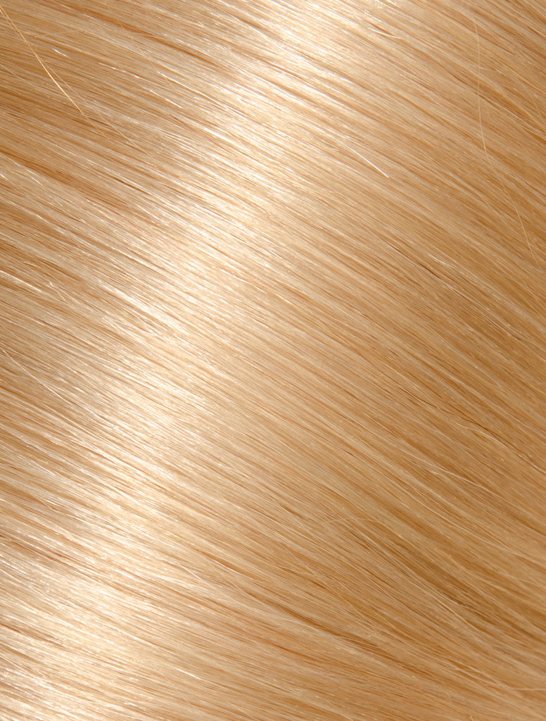 GOLDEN BLONDE KERATIN HAIR EXTENSIONS