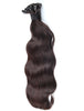 NATURAL BLACK KERATIN HAIR EXTENSIONS - 2