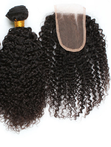 KINKY CURL LACE CLOSURE