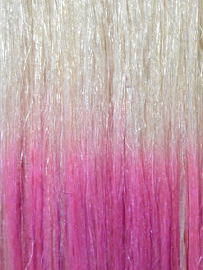 PINK OMBRE CLIP IN HAIR EXTENSIONS