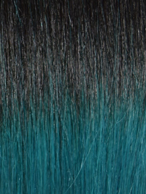 TEAL OMBRE CLIP IN HAIR EXTENSIONS