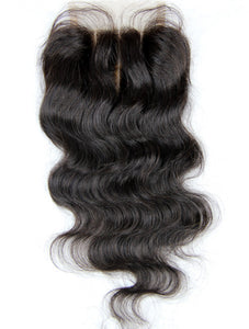 BODY WAVE THREE PART CLOSURE