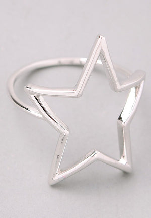 Star Cut Out Ring