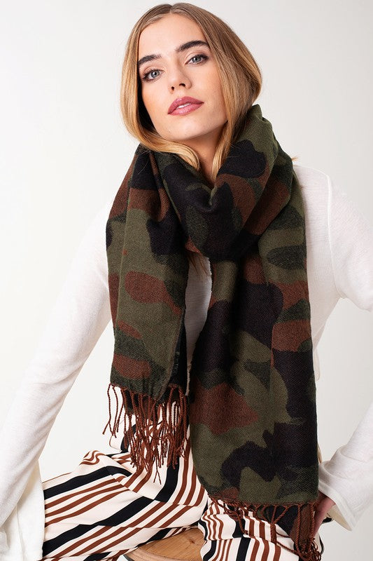 Load image into Gallery viewer, Camo Scarf