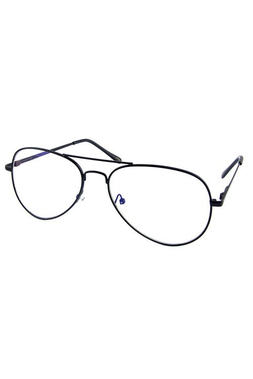 Aviator Blue Blocker Glasses