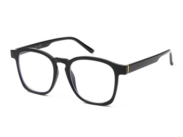 Square Blue Blocker Glasses
