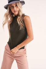 Melrose Mock Neck Tank