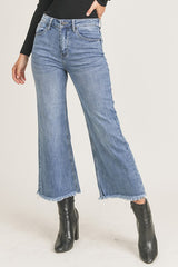 Wild and Blue Wide Leg Jeans