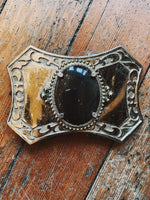 Smokey Quartz Belt Buckle