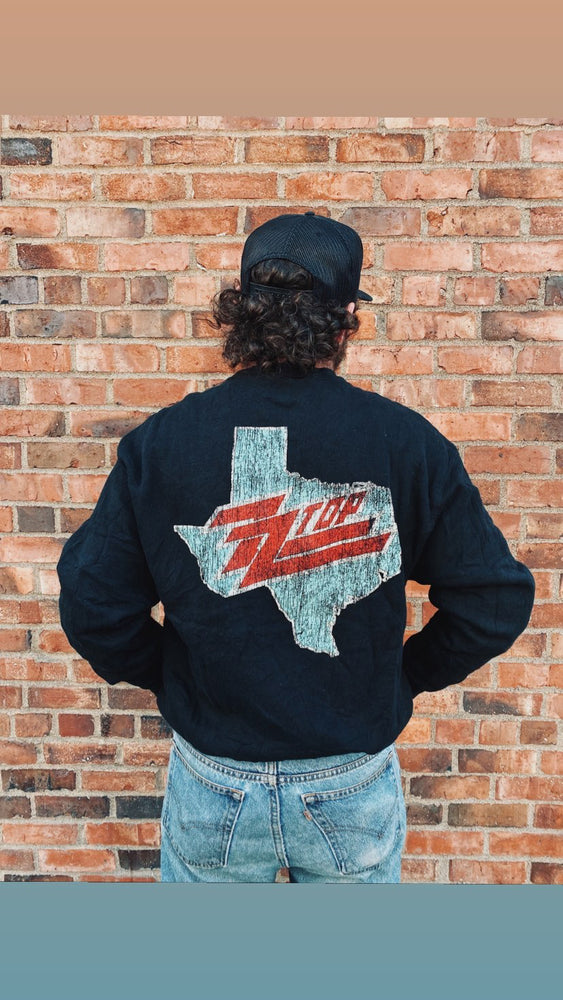 Vintage ZZ Top Eliminator Sweatshirt Sz M