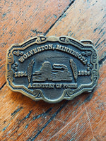 Wolverton Brass Belt Buckle