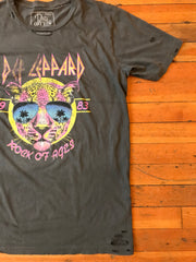 Def Leppard Distressed Tee