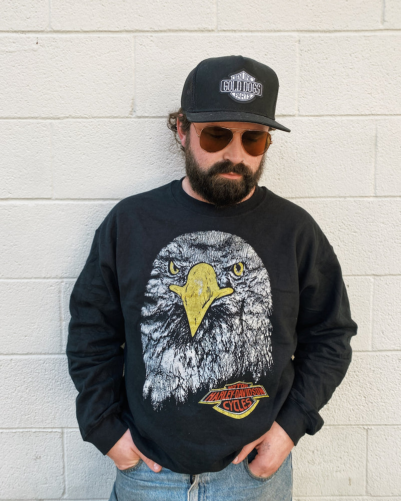 Load image into Gallery viewer, Vintage Harley Eagle Sweatshirt