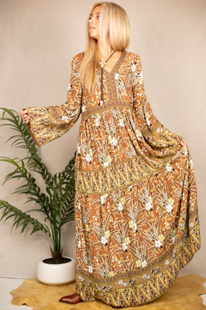 Just Like Honey Maxi Dress