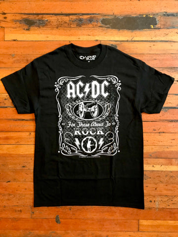 AC/DC For Those About To Rock Tee