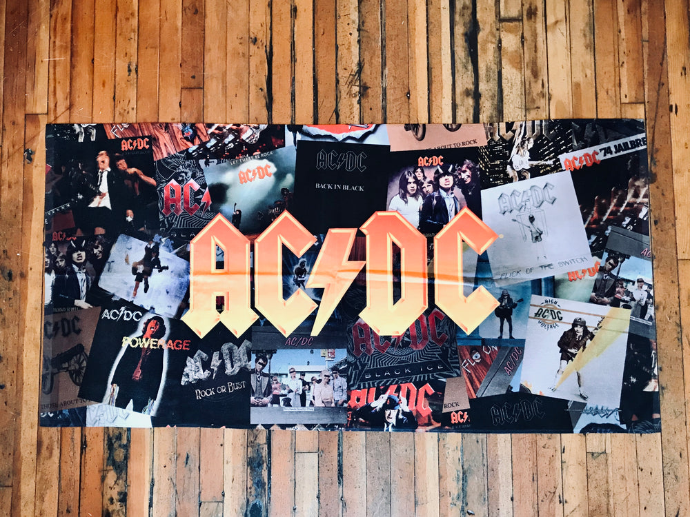 Load image into Gallery viewer, AC/DC Beach Towel