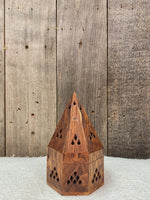 Wooden Cone Incense Burner