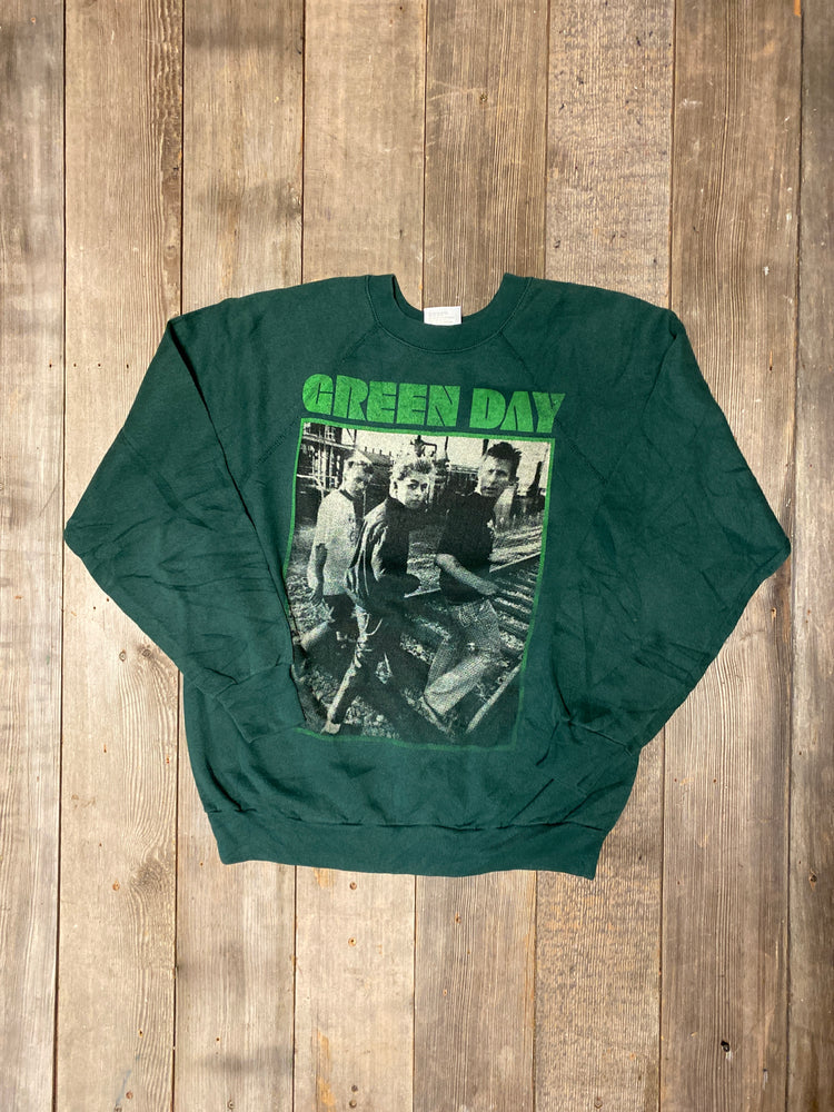 Vintage Green Day Sweatshirt Sz M