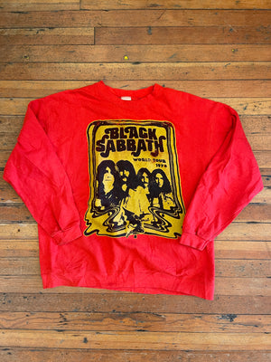 Vintage Black Sabbath World Tour Sweatshirt