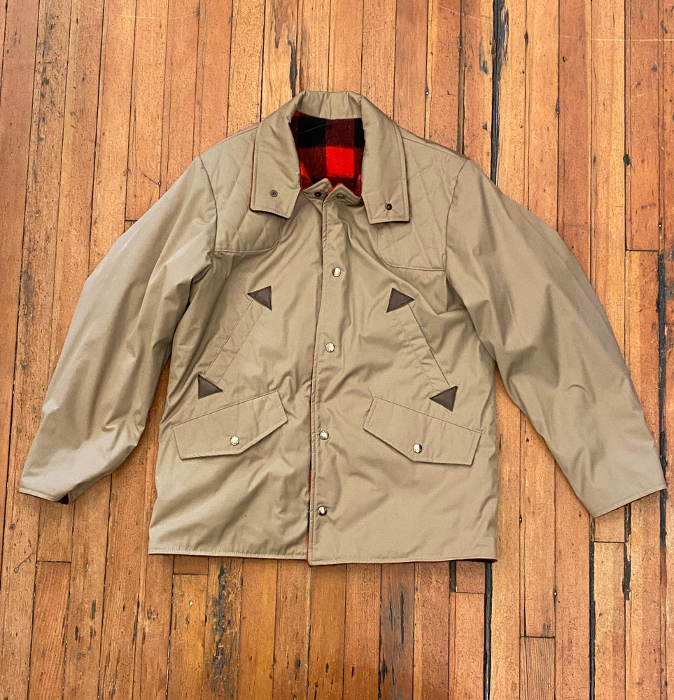 Men's Vintage Reversible Hunting Jacket Sz M