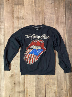 Load image into Gallery viewer, Vintage Rolling Stones Sweatshirt Sz S