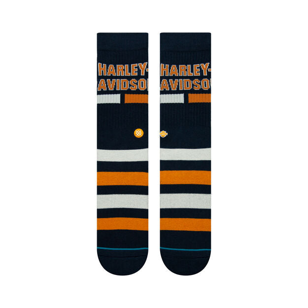 Load image into Gallery viewer, Harley Davidson Bars Crew Socks