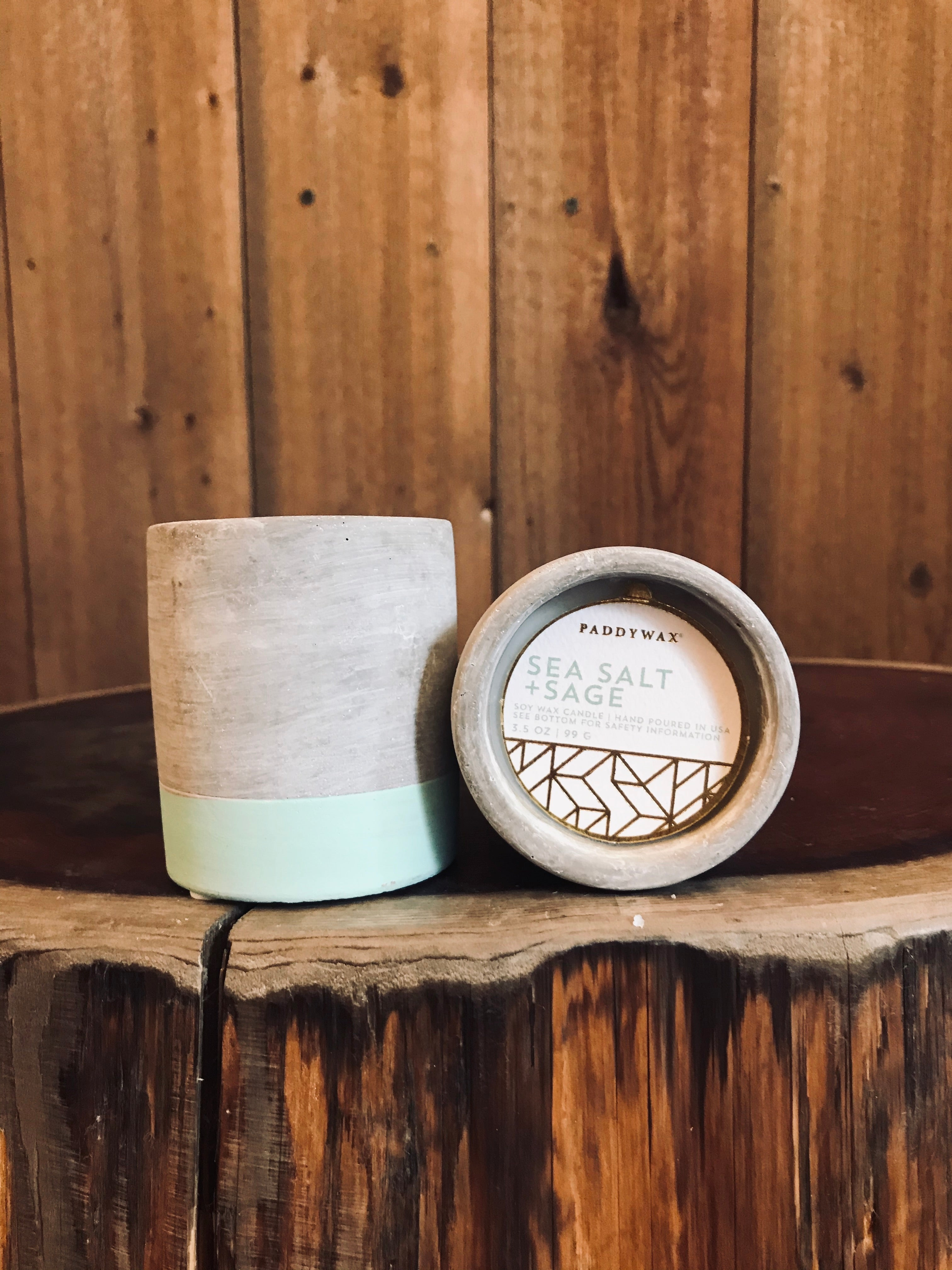 Sea Salt & Sage Candle