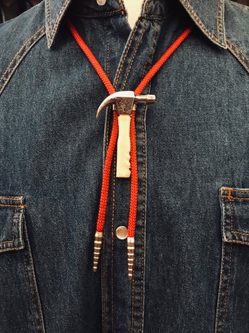 Vintage Hammer Time Bolo Tie