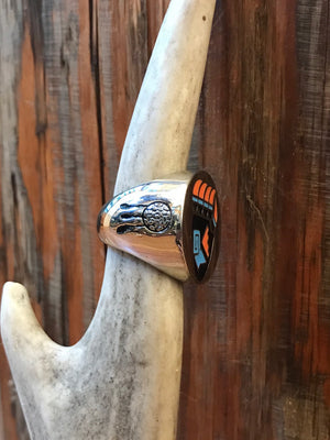 Load image into Gallery viewer, Bear Claw Biker Ring