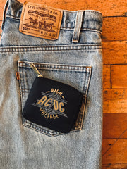 AC/DC Zip Around Wallet