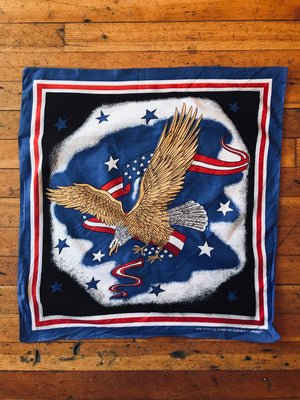 Load image into Gallery viewer, Vintage Flying Eagle Bandana