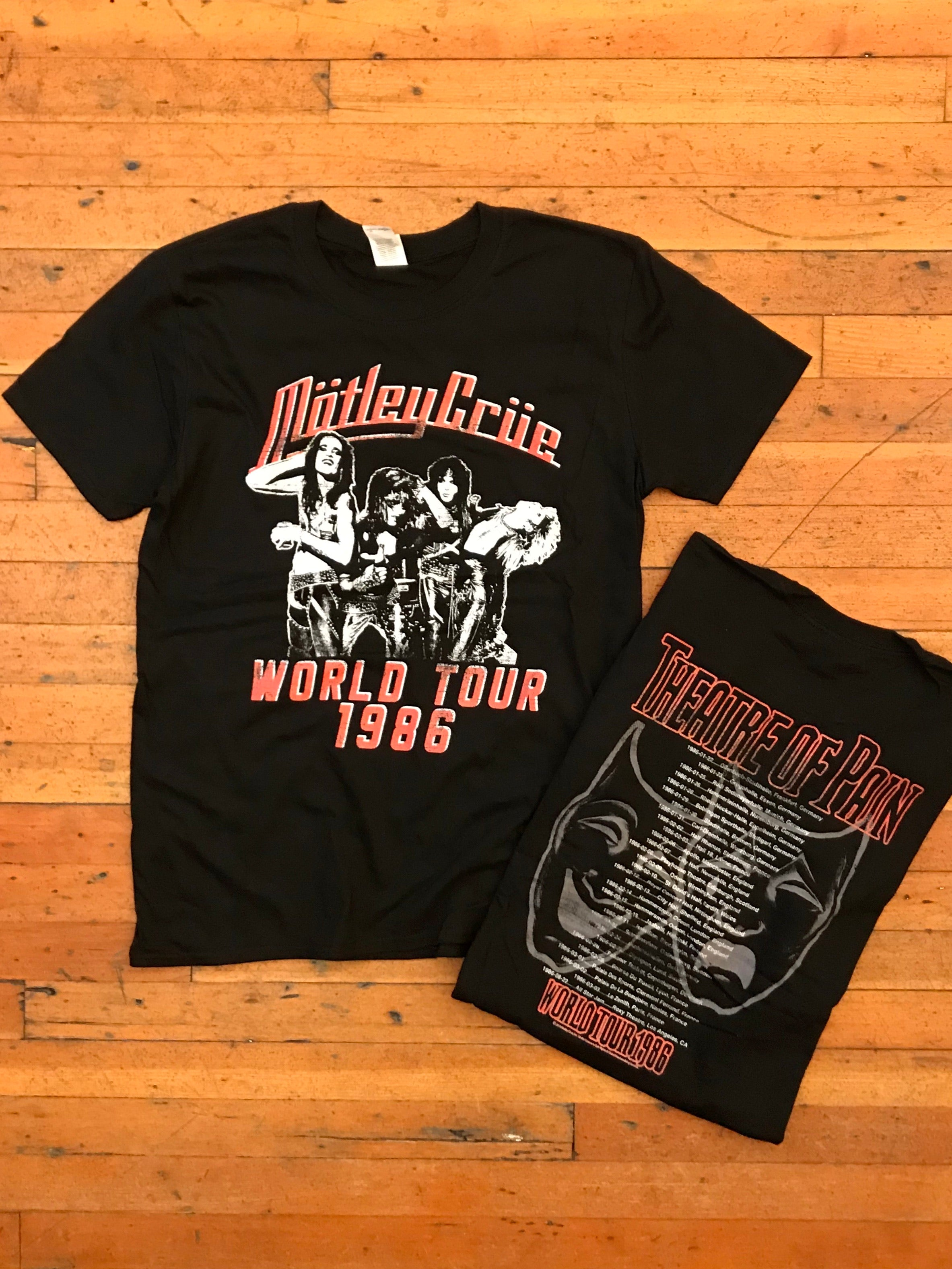 Mötley Crüe Theatre Of Pain Tour Tee