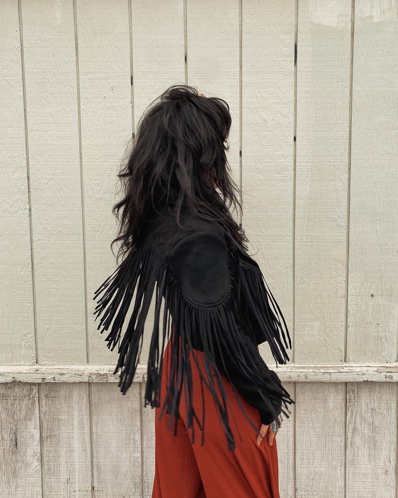 Load image into Gallery viewer, Voodoo Child Fringe Jacket