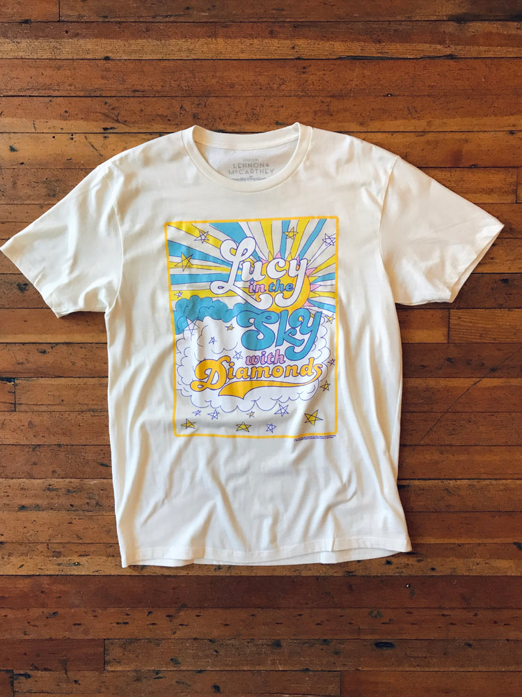 Lennon & McCartney Lucy In The Sky Tee