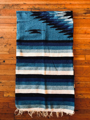 Blue + Black Falsa Blanket